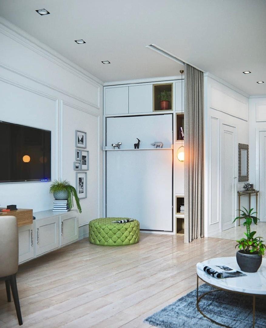 Небольшая квартира 33 кв.