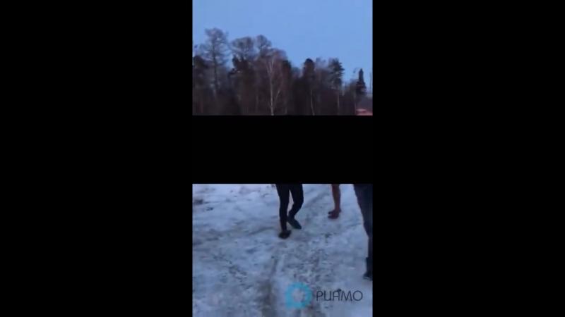 Охранники парковки ЖК «Люберцы» выгнали голых проституток на мороз -- РИАМО в Лю_HD.mp4