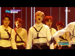 180421 NCT 2018 - Black on Black @ Music Core