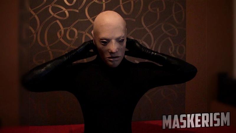 Boy Transformation - Masking and Unmasking (Greymas Latex Mask)