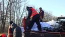 Под Киевом фура снесла отбойник и перевернулась часть Житомирской трассы перекрыта 2