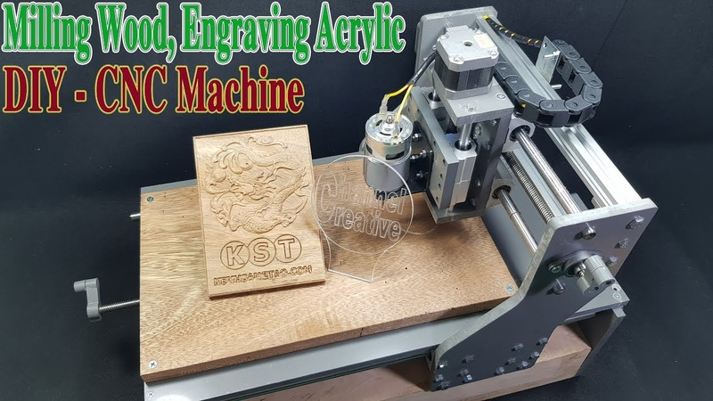How to Make a CNC Machine Engraving Cutting Milling with 775 Motor