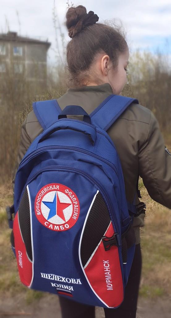 Дождались свой долгожданный рюкзак!