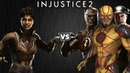 Injustice 2 Виксен против Спидстеров Intros Clashes rus