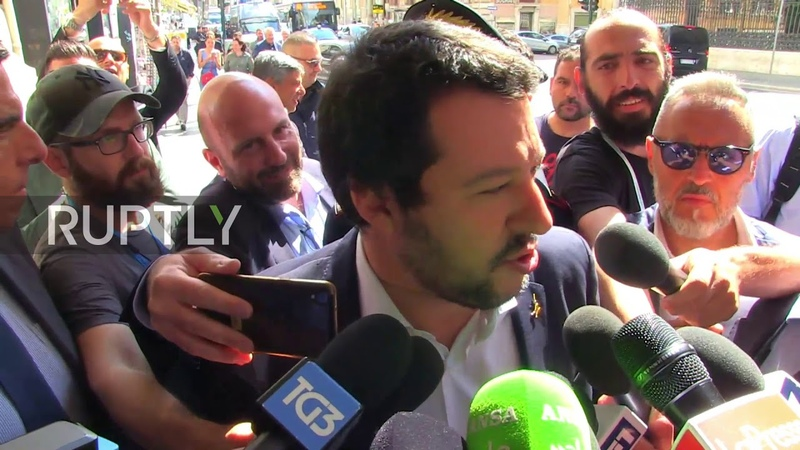 Italy Salvini wants apology from Paris over 'insulting' Aquarius remarks