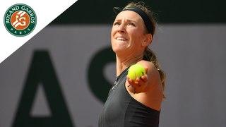 Victoria Azarenka vs Katerina Siniakova - Round 1 Highlights I Roland-Garros 2018