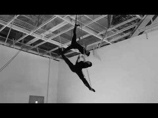 Anzhela Kulagina & Olga Skvarskaya Duo on Aerial Chains