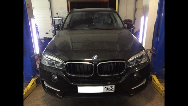 BMW X5 F15 2014 xDrive25d 3.0L - Увеличение мощности, отключение и удаление сажевого фильтра, клапана ЕГР/АГР вихревых заслонок.