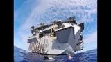 Jumping off an aircraft carrier-USS John.C.Stennis swim call