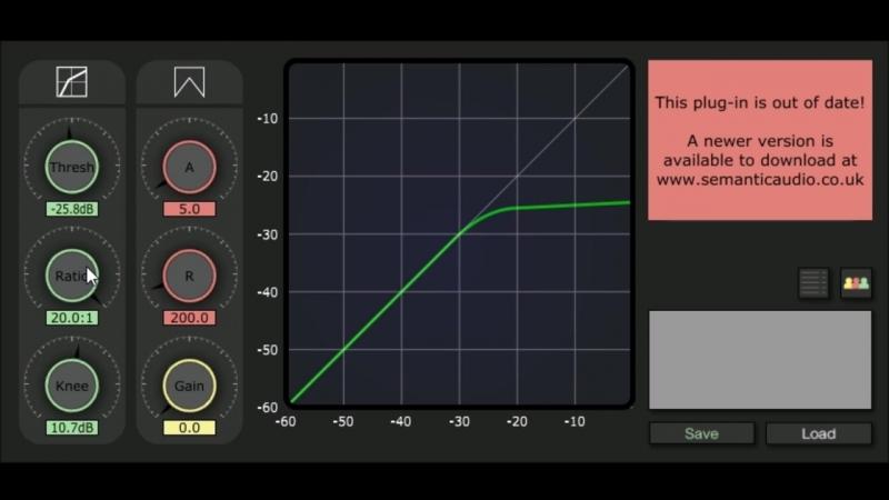 Compressor by Semantic audio