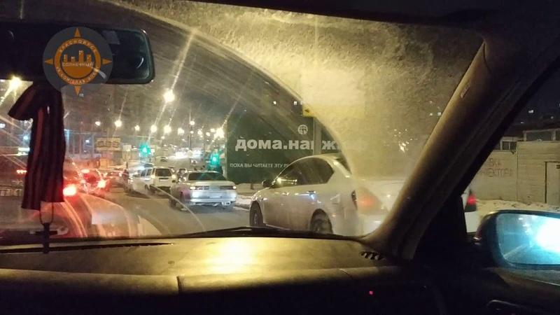 ДТП паравозик на 60 лет Образования СССР 21 01 2019