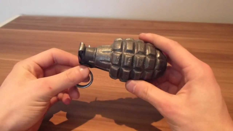 Hand grenades and developments