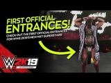 WWE 2K19 FIRST OFFICIAL ENTRANCES! (Full NXT Entrances)