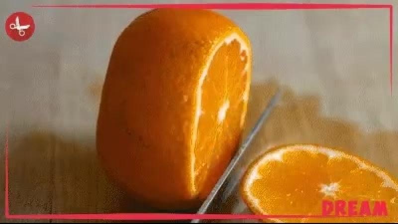 Лайфхак с мандаринкой