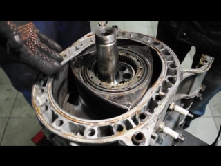 Обзор на роторный двигатель. Принцип работы.