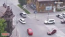 ДТП Бийск. Сбил пешехода на перекрестке ул. Гилева - Л. Толстого 14.06.2018