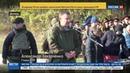 Новости на Россия 24 Моторола похоронен в Донецке под гром выстрелов
