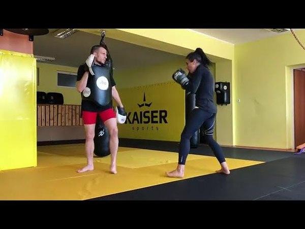 Joanna Jedrzejczyk Training 2 22 05 18