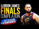LeBron James Full 2018 NBA Finals Highlights vs Warriors - 34 PPG, 10 APG, 8.5 RPG! | FreeDawkins