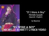 Michelle Sussett If I Were A Boy LYRICS Video Spanish - English American Idol 2018