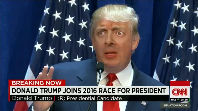 Donald Trump - Mr. Bean Deepfake