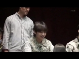 seokjin and taehyung reaction to that little girl who brought stool with her was the cutest