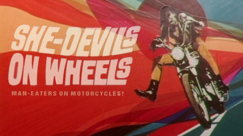 Дьяволицы на колесах / She-Devils on Wheels / 1968 / Гершел Гордон Льюис