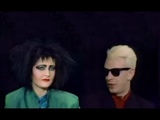 Siouxsie Sioux &amp Steve Severin on CBS with Charlie Rose 1986