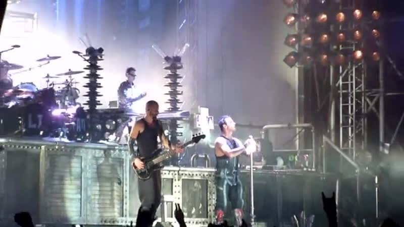 Rammstein - Links 2 3 4 [Live At Berlin, Germany 2010]