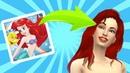 Русалочка Ариэль в Sims 4 Создание персонажа