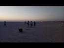 Тунис Солёное озеро встречаем рассвет