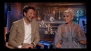 Интервью Леди Гаги и Брэдли Купера для Джейка Гамильтона (10 сентября)