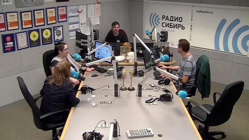 Легенда русского рока Настя Полева / Радио Сибирь Омск - 13.06.18