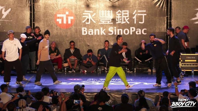 R.F Jam 4on4 Semifinal 2 F.K.C. vs Predatorz Crew|2018 Taipei Bboy City | Danceproject.info