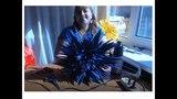 МК Ростовые цветы. Красивый василек из фоамирана. Beautiful cornflower of foamiran
