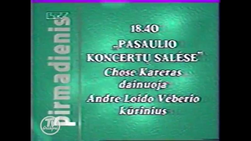 Окончание Формулы-1, программа передач и конец эфира (LTV [Литва], 30.03.1997)