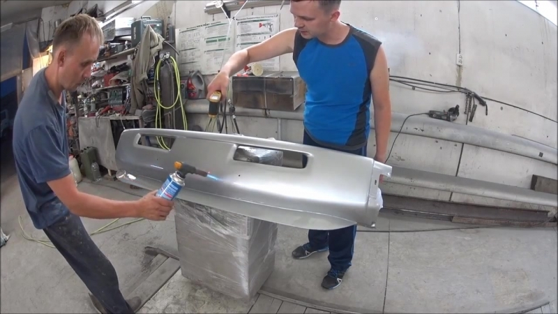 химическая металлизация бампера