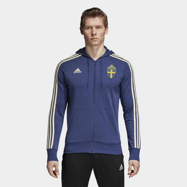 Толстовка Швеция 3-Stripes