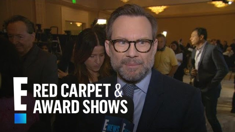 Christian Slater Praises Glenn Close After Golden Globes Nomination | E! Red Carpet Award Shows