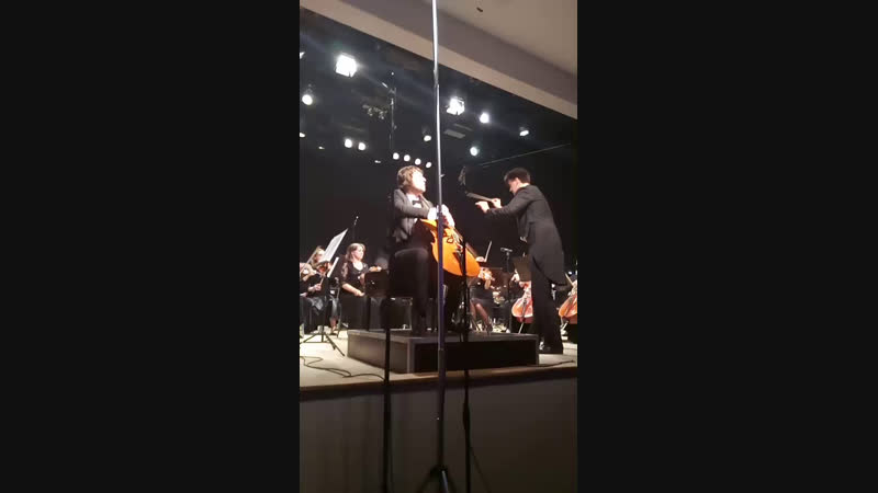А.Дворжак Концерт для виолончели с оркестром Солист А. Рамм , за дирижерским пультом ГСУР И.Дербилов