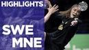 Sweden vs Montenegro | Highlights | Women's EHF EURO 2018