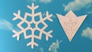 Paper Snowflake 01 How To Make A Paper Snowflakes Step by Step Tutorial