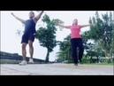 Berlatih kebugaran dengan cewek kece (practise fitness with girl) Part 2