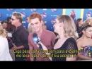 2018 › интервью для WarnerChannelBrasil на ковровой дорожке премии Teen Choice Awards › 12 августа