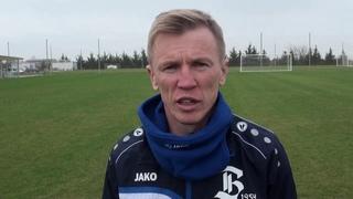 Послематчевое интервью с главным тренером