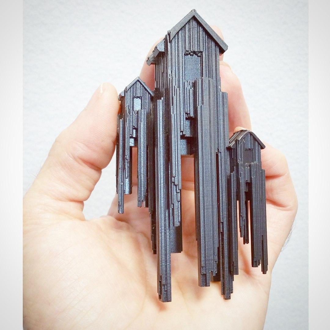 Micro sculptures