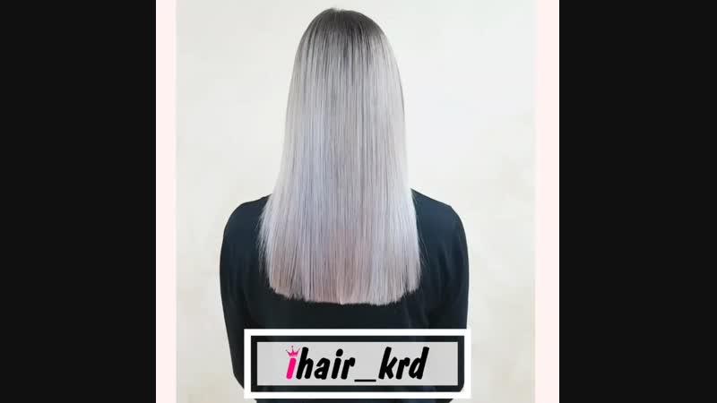 ботокс волос для блонда с антижелтым эффектом