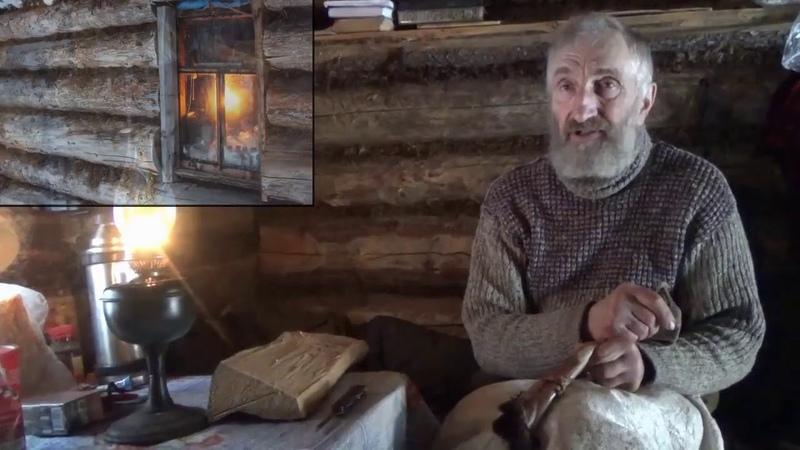 Таёжный охотник Соловьёв рассказывает о Тайге 'Счастливые люди'