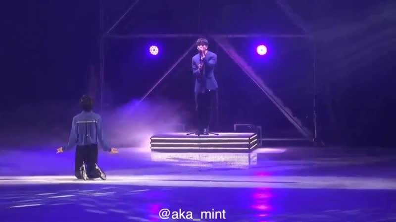 190421 Cha Junhwan - Boy With a Star (with VIXX Hyuk) @ LG ThinQ AI Ice Fantansia 2019