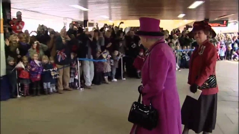 The Queen, Kate Middleton and Prince Philip visit Leicester as part of a Diamond Jubilee tour